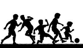 年轻足球天分 库存照片