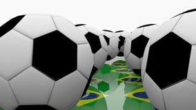 足球情节2 向量例证