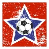 足球明星象 向量例证