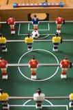 足球桌面 库存照片
