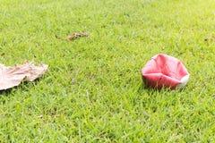 足球橄榄球场体育场 库存照片