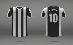足球球衣传染媒介例证 免版税库存图片
