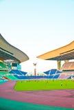 足球的体育场 库存图片