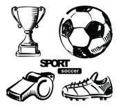足球的例证 向量例证