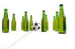 足球赛 免版税图库摄影