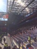 足球赛CSKA罗斯托夫在CSKA体育场,莫斯科内 库存图片