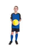 足球运动员。 免版税库存图片