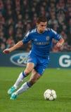 足球运动员伊登・夏萨特 免版税图库摄影