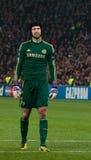 足球运动员彼得Cech 库存照片