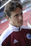 足球运动员汤马士・迪兰尼 库存图片