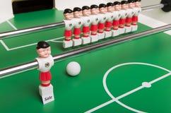 足球运动员销售额 免版税库存图片