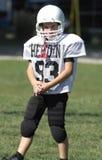 足球运动员青年时期 免版税库存照片