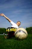 足球运动员#6 免版税库存图片
