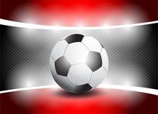足球阶段聚光灯 库存照片