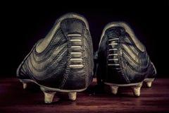 足球鞋子 图库摄影