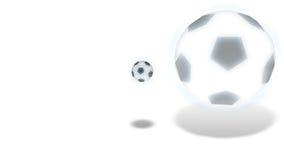 足球-动画 向量例证