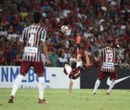 足球-巴西 免版税库存照片