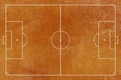 足球(橄榄球)域 向量例证