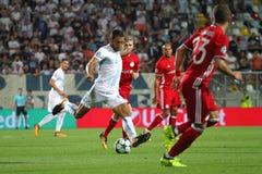 足球-欧洲联赛冠军杯 免版税库存照片