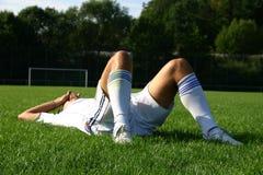 足球#8 库存照片