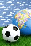 足球worldcup 库存图片
