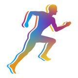 跑步的人 免版税库存图片