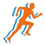 跑步的人 免版税图库摄影