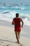 跑步的墨西哥 库存照片