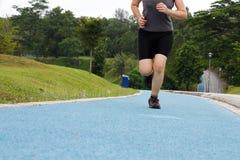 跑步的妇女 图库摄影