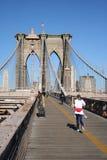 跑步的纽约 图库摄影