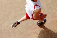 跑步的运动员 图库摄影