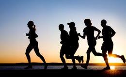 跑步 免版税库存照片