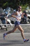 跑的饥饿(罗马) -世界粮食计划署-赛跑者 免版税库存图片