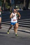 跑的饥饿(罗马) -世界粮食计划署-赛跑者 免版税图库摄影