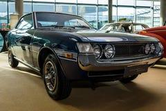 跑车丰田切利察小轿车1600 GT, 1974年 免版税库存照片