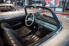 跑车奔驰车300SL (W198)小室, 1957年 免版税库存照片