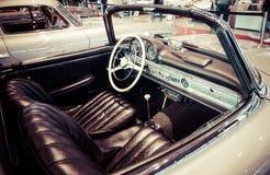 跑车奔驰车300SL (W198)小室, 1957年 库存照片