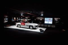 跑车奔驰车300SL W198 免版税图库摄影