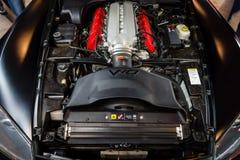 跑车推托蛇蝎SRT-10引擎, 2006年 图库摄影