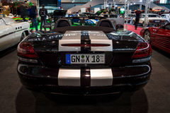 跑车推托蛇蝎SRT-10, 2008年 库存图片