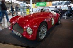 跑车根据菲亚特Topolino A,身体Barchetta Corsa, 1950年 库存图片