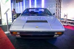 跑车法拉利迪诺308 GT 4日1974年 免版税库存照片