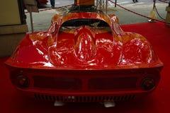 跑车法拉利迪诺206 SP (体育原型), 1966年 免版税库存图片