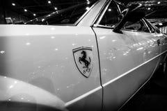 跑车法拉利308 GT4迪诺的片段, 1977年 图库摄影