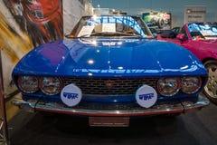 跑车菲亚特迪诺2 0辆Coupe, 1967年 库存图片