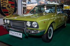跑车菲亚特124体育小轿车CC, 1973年 免版税库存照片