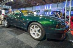 跑车阿斯顿・马丁V-8 Coupe, 1996年 库存照片