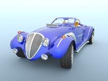 跑车3D CG翻译  向量例证