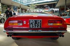跑车Maserati Bora Tipo 117, 1971年 免版税图库摄影