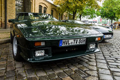 跑车TVR Tasmin 350i, 1986年 库存照片
